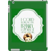 She's Never Wrong iPad Case/Skin