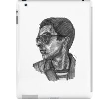 Miles (face) iPad Case/Skin
