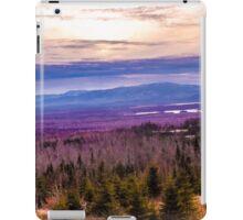 Wood Pond in Jackman, Maine iPad Case/Skin
