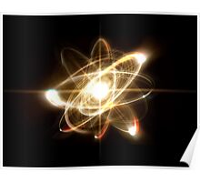 Atom Particle Poster