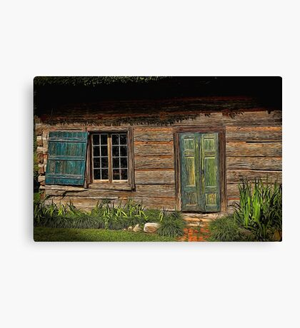 Once Upon A Time Painted Canvas Print