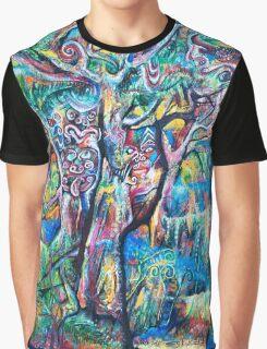 Music of Rainforest Before Dark Graphic T-Shirt
