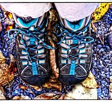 So Grateful for my Walking Boots by Anita Pollak