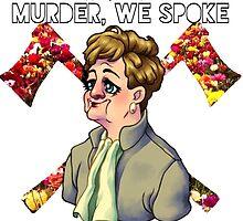 Murder, We Spoke Logo (01) by PrettyLittlePod