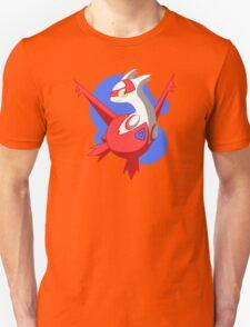 Pokemon - Latias w/ background T-Shirt