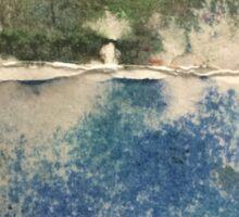 Smudges in Oil Pastel Sticker
