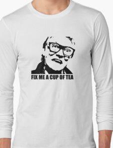 Snatch Brick Top Fix Me A Cup Of Tea Tshirt Long Sleeve T-Shirt