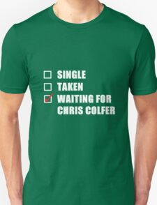 Waiting For Chris Colfer T-Shirt