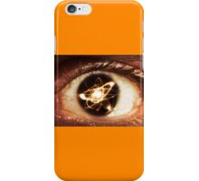 Atom Particle Eyes iPhone Case/Skin