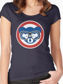 Hey, Hey! Cubs Win! Women's Fitted Scoop T-Shirt
