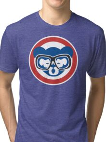Hey, Hey! Cubs Win! Tri-blend T-Shirt
