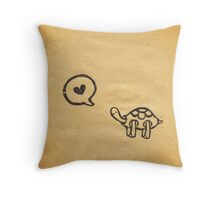 I Say Love Throw Pillow