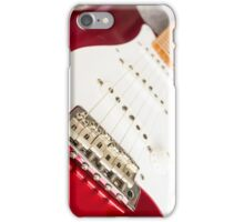 Candy Red Fender Strat iPhone Case/Skin