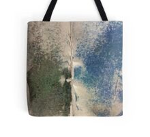 Smudges 2 in Oil Pastel Tote Bag