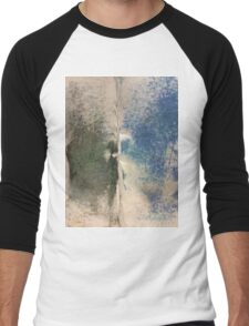 Smudges 2 in Oil Pastel Men's Baseball ¾ T-Shirt