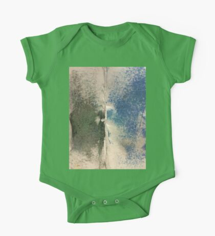 Smudges 2 in Oil Pastel One Piece - Short Sleeve