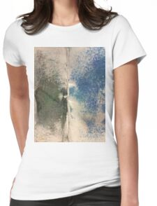 Smudges 2 in Oil Pastel Womens Fitted T-Shirt
