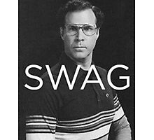Will Ferrell Swag Photographic Print