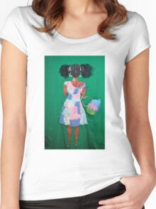 Girly  Girl Women's Fitted Scoop T-Shirt