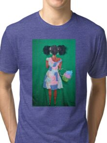 Girly  Girl Tri-blend T-Shirt