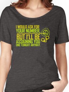 What's Your (Item) Number 2 Women's Relaxed Fit T-Shirt