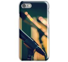 Recording Studio Furniture & Gear | Music Studio Decor Design | Mic Microphone iPhone Case/Skin