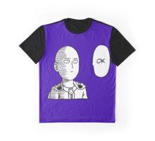 OK Black And White Graphic T-Shirt