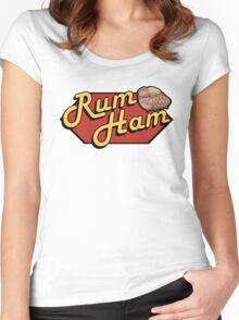 It's Always Sunny: Rum Ham Women's Fitted Scoop T-Shirt