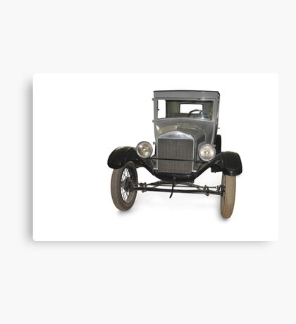 Oldtimer Automobile Canvas Print
