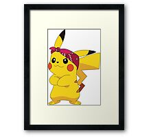 Urban Pikachu Framed Print