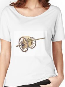 Antique Canon on White Women's Relaxed Fit T-Shirt