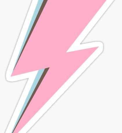 Pastel Bowie Sticker
