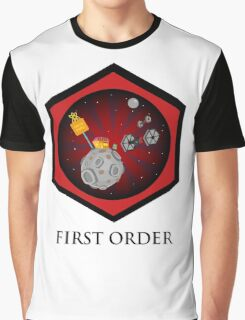 First Order - Drive Thru in the Galaxy Far Far Away Graphic T-Shirt