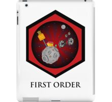 First Order - Drive Thru in the Galaxy Far Far Away iPad Case/Skin