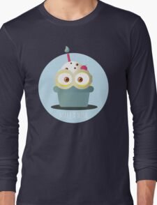 Minion Cupcake Long Sleeve T-Shirt
