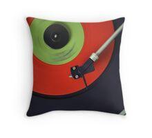 Recording Studio Furniture Wall Art & Gear | Music Studio Decor Design | Vinyl Record Turntable Dj Throw Pillow