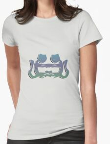 Cat lovers Womens Fitted T-Shirt