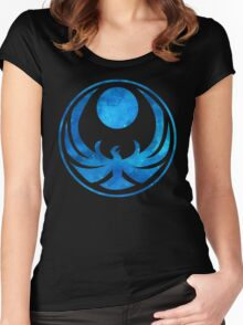 Blue Nightingale Women's Fitted Scoop T-Shirt
