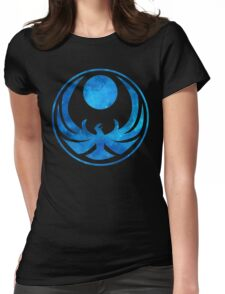 Blue Nightingale Womens Fitted T-Shirt