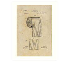 TP Patent Art Print