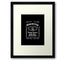 The Winchester's Family Business Framed Print