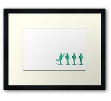 Army Man Independence Framed Print