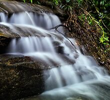 Serenity Cascades by Kristin Repsher