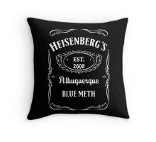 Heisenberg's Blue Meth Throw Pillow