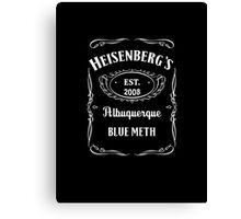 Heisenberg's Blue Meth Canvas Print