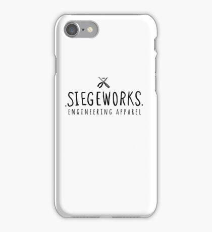Siegeworks engineering apparel iPhone Case/Skin