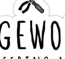 Siegeworks engineering apparel Sticker