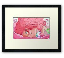 lie down Framed Print