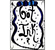 Rachel Doodle Art - Got Ink Photographic Print