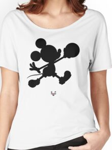 Bucket Club Mickey Jumpman 2  Women's Relaxed Fit T-Shirt